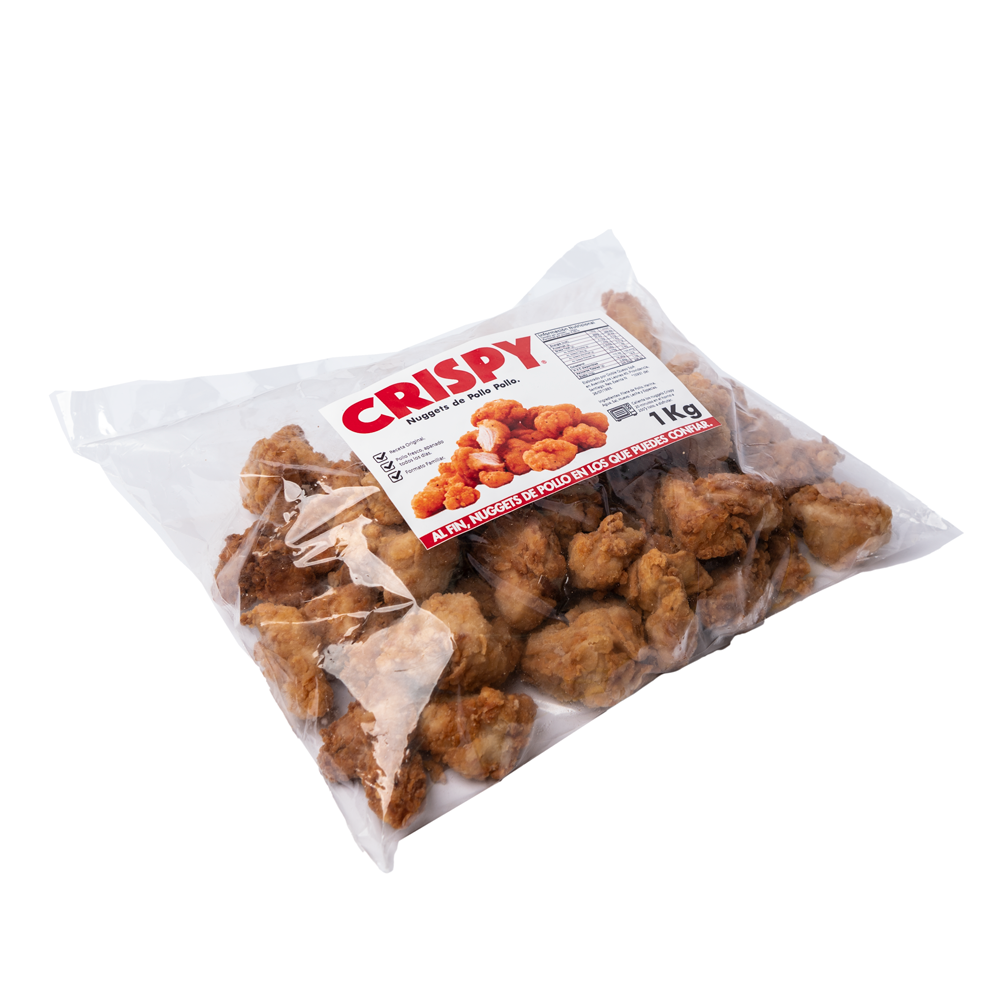 Nuggets de pollo Bolsa de 1 Kg