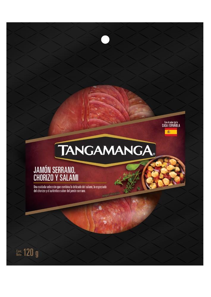 Chorizo salami serrano