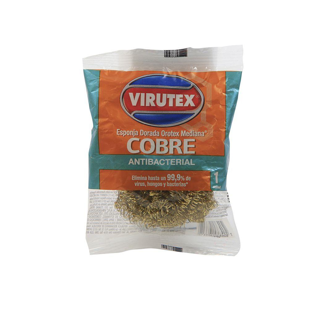 Esponja dorada orotex x1 antibacterial