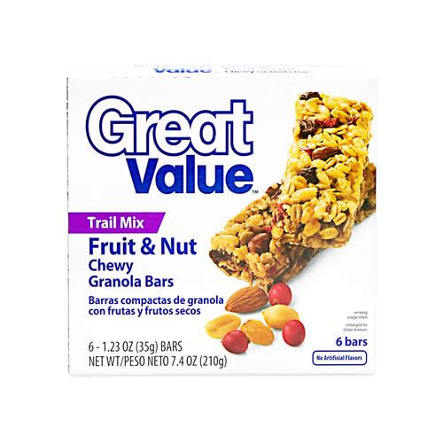 Barras Compactas de Granola con Frutos Secos Caja 210 g