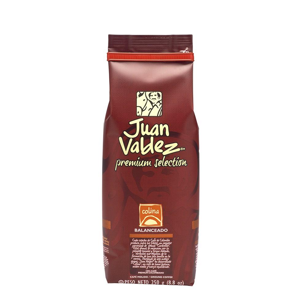 Café grano molido balanceado colina