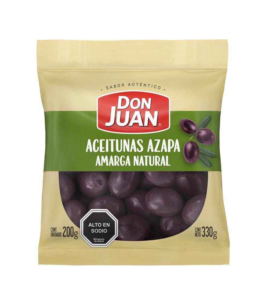 Aceitunas Azapa amarga natural