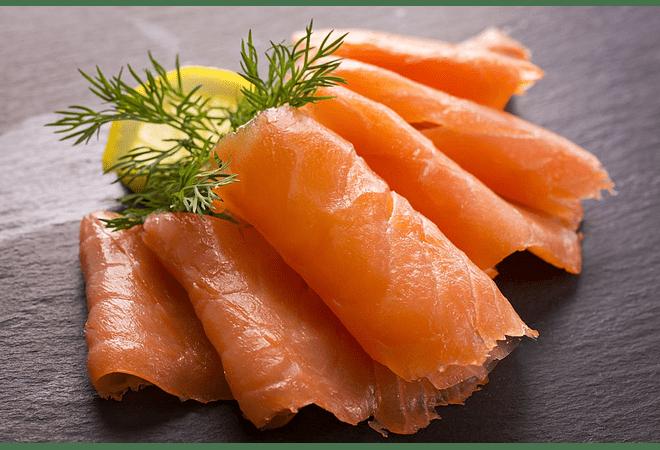Salmon ahumado slice 250 gramos