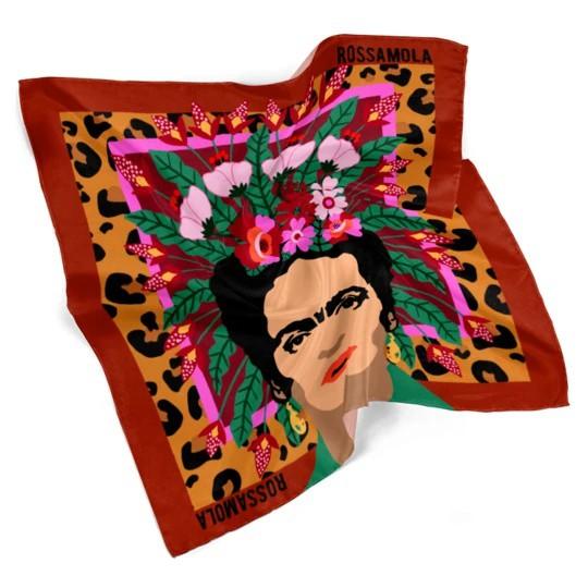 Pañuelo Frida Khalo Mediano (70x70cm)