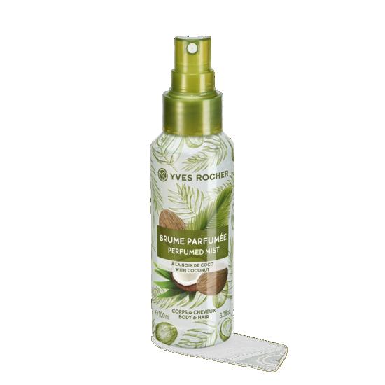 Sensual perfumed body and hair mist - coconut 100ml
