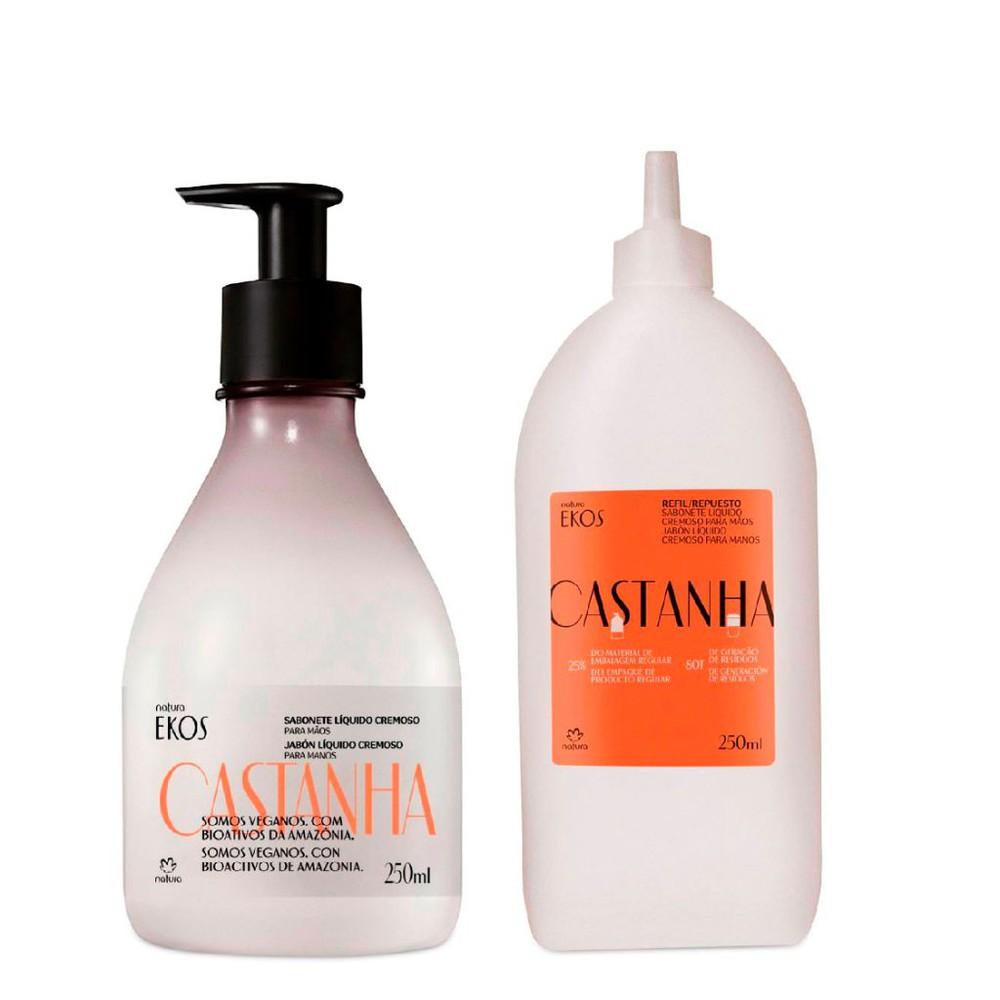 Dúo jabón líquido para manos castaña