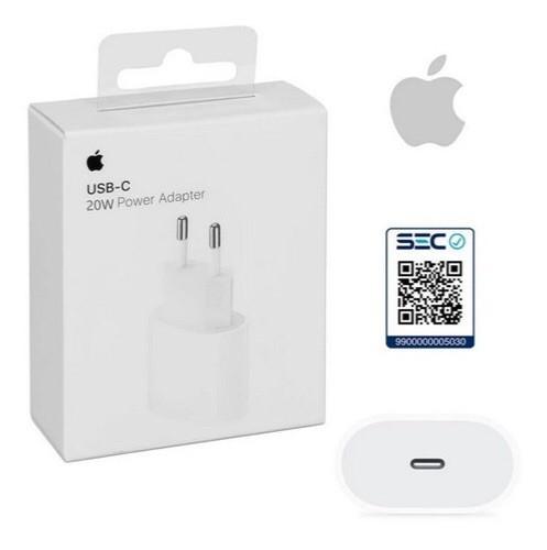 Cargador adaptador carga rápida de iphone Entrada tipo C-20W