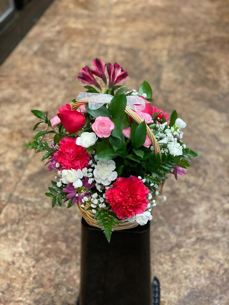 Basket of love 1 bouquet