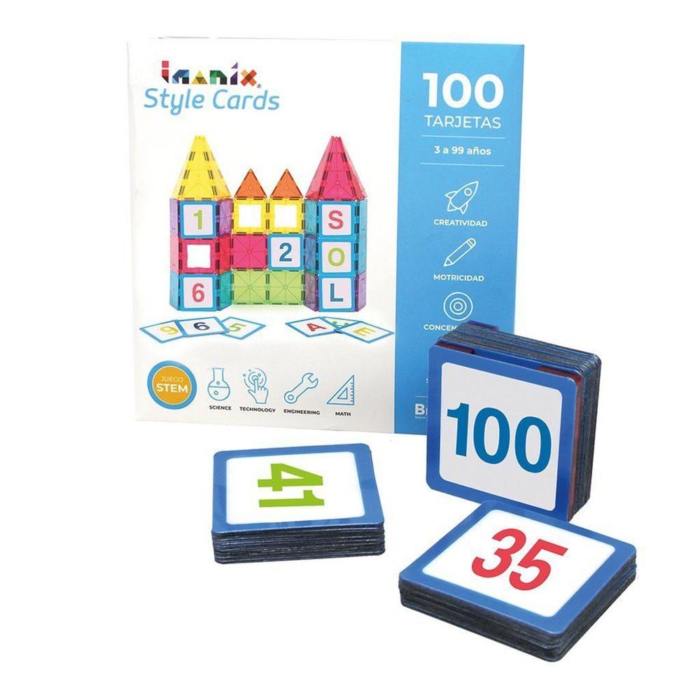 Imanix style cards números del 1 al 100
