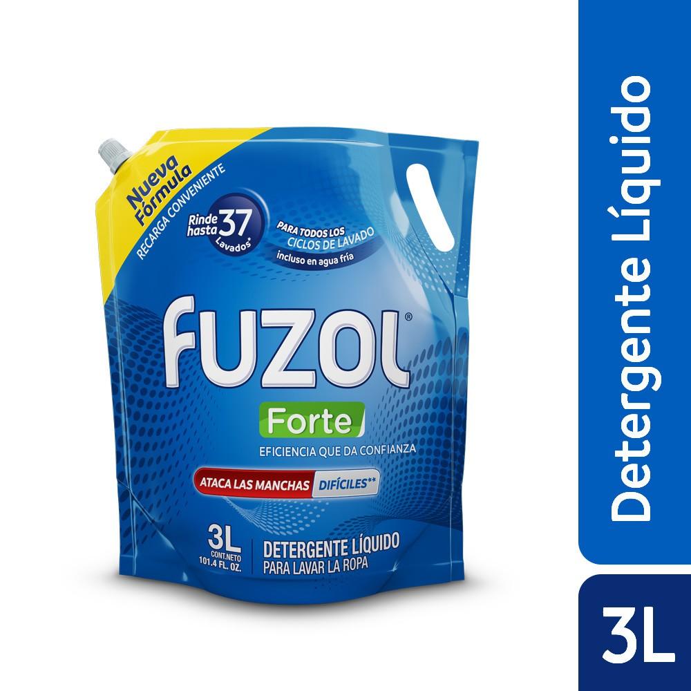Detergente líquido forte