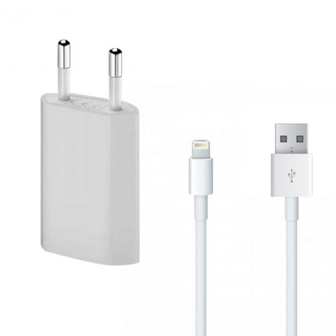 Cargador de iphone 5w adaptador + cable usb a lightning Iphone X