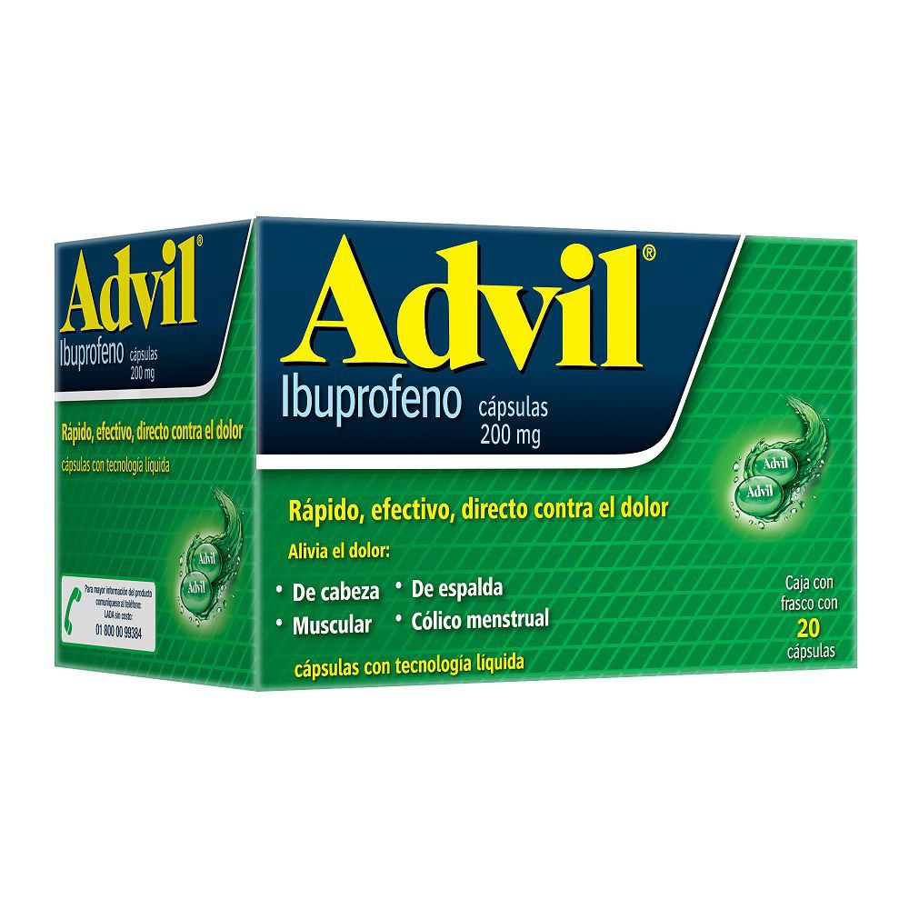 Analgésico 200 mg dolores leves