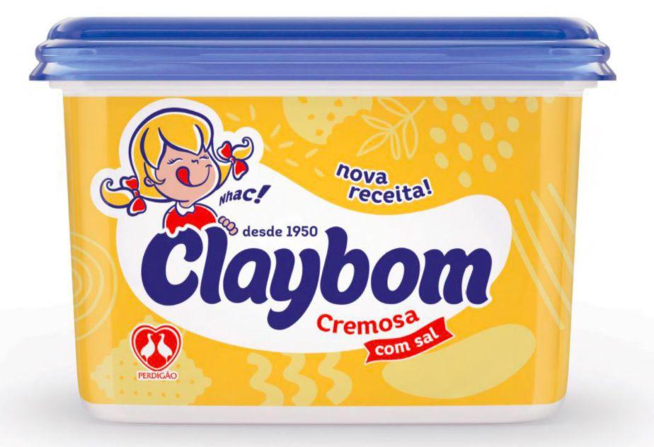 Margarina cremosa com sal Claybom