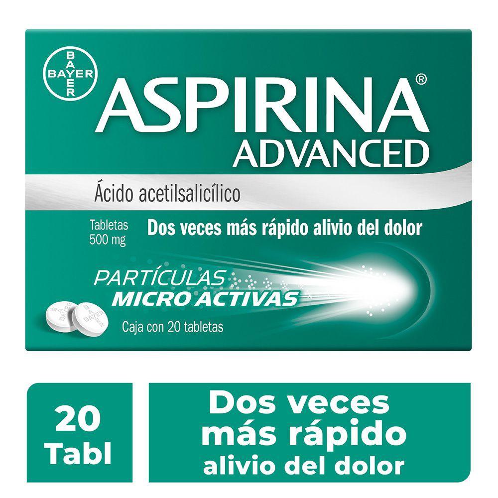Ácido acetilsalicílico tabletas 500 mg