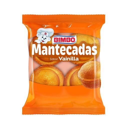 Mantecadas sabor vainilla