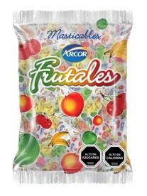 Masticables sabores frutales