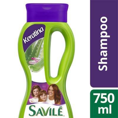 Shampoo pulpa de sábila y keratina