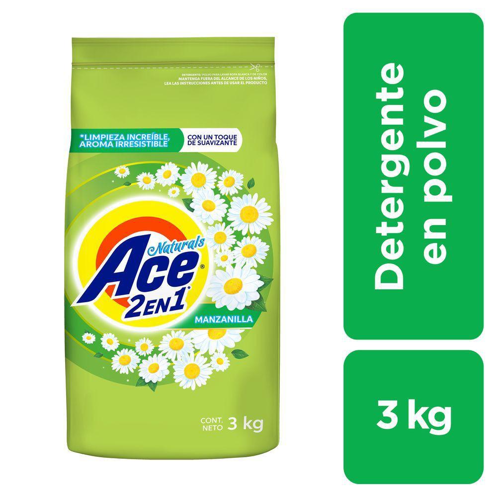 Detergente en polvo naturals manzanilla