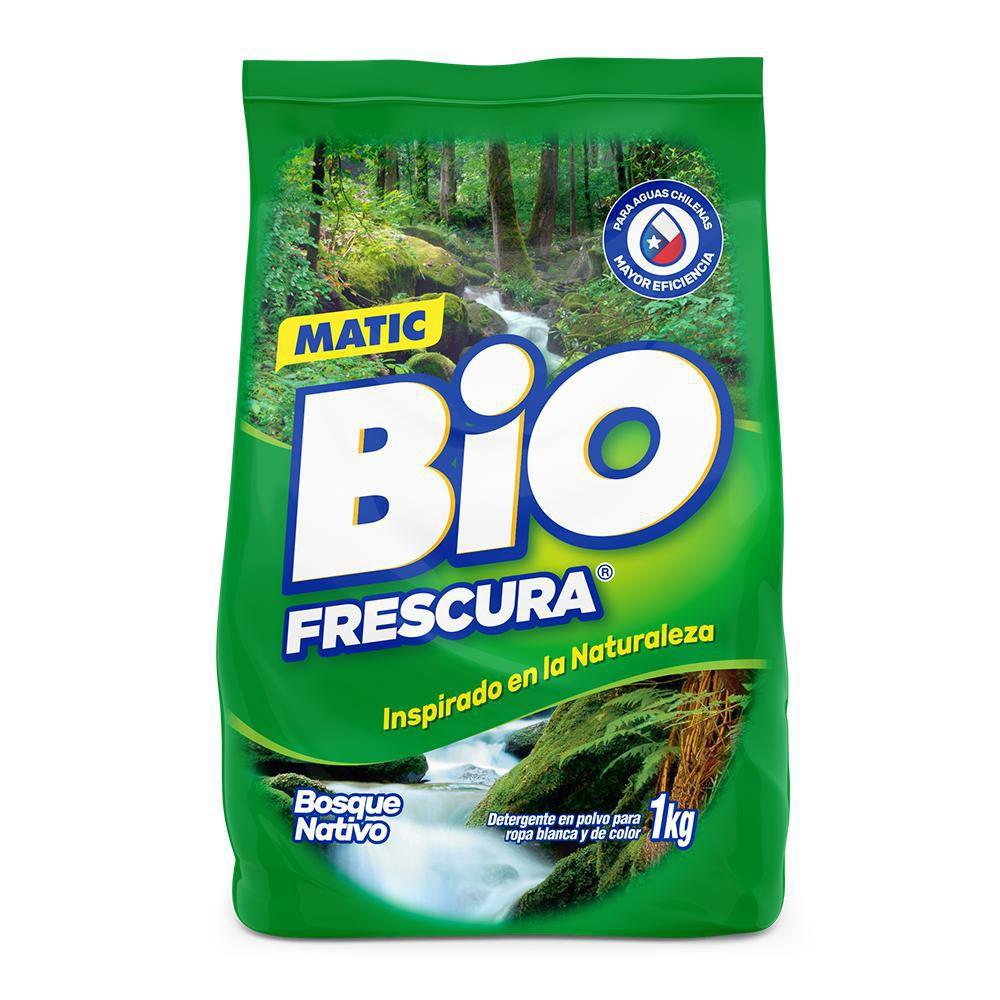 Detergente polvo bosque nativo