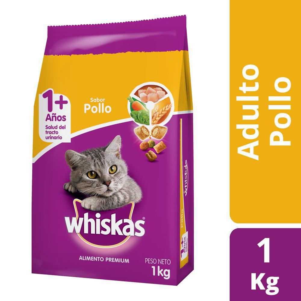 Alimento para gato adulto sabor pollo y leche
