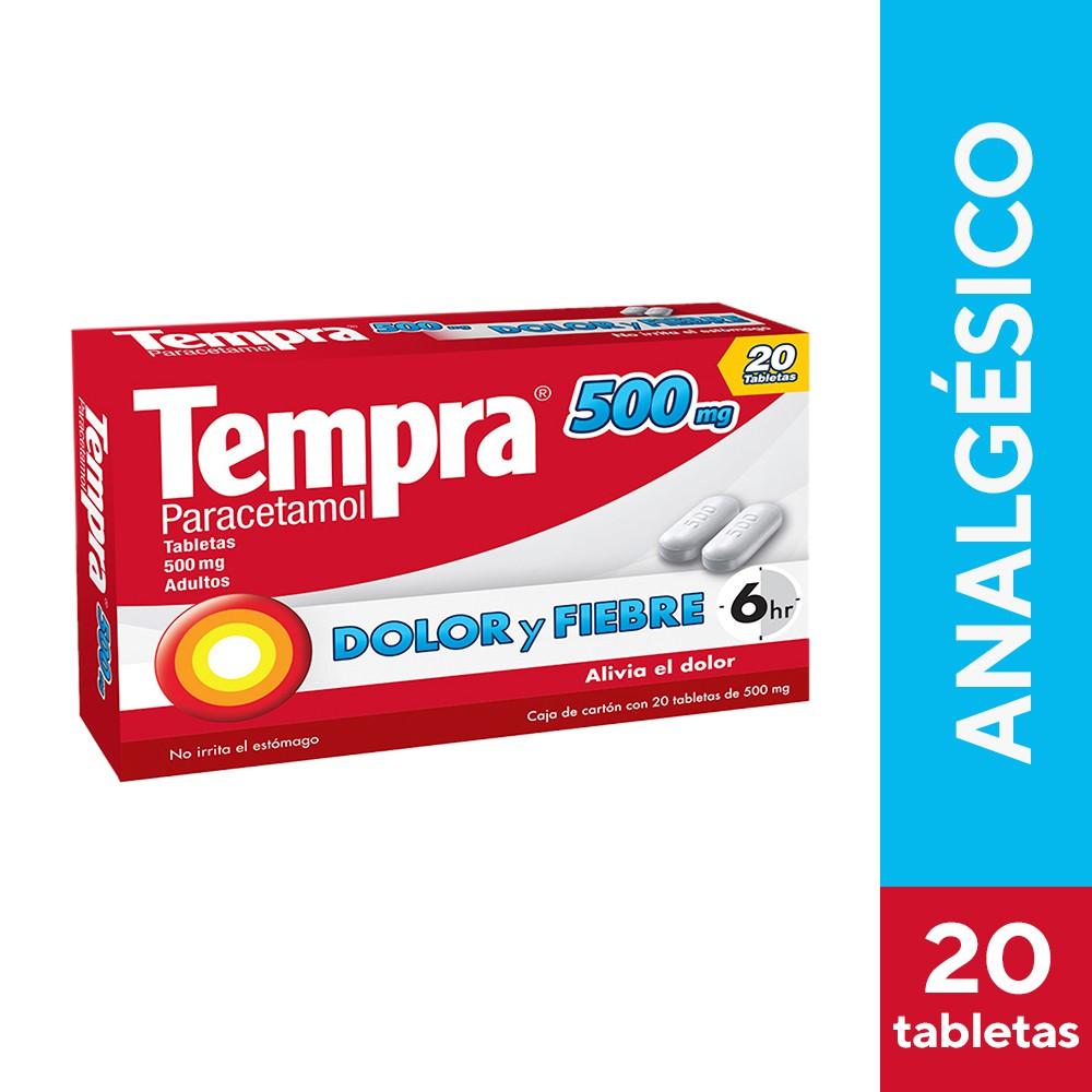 Paracetamol 500mg adultos
