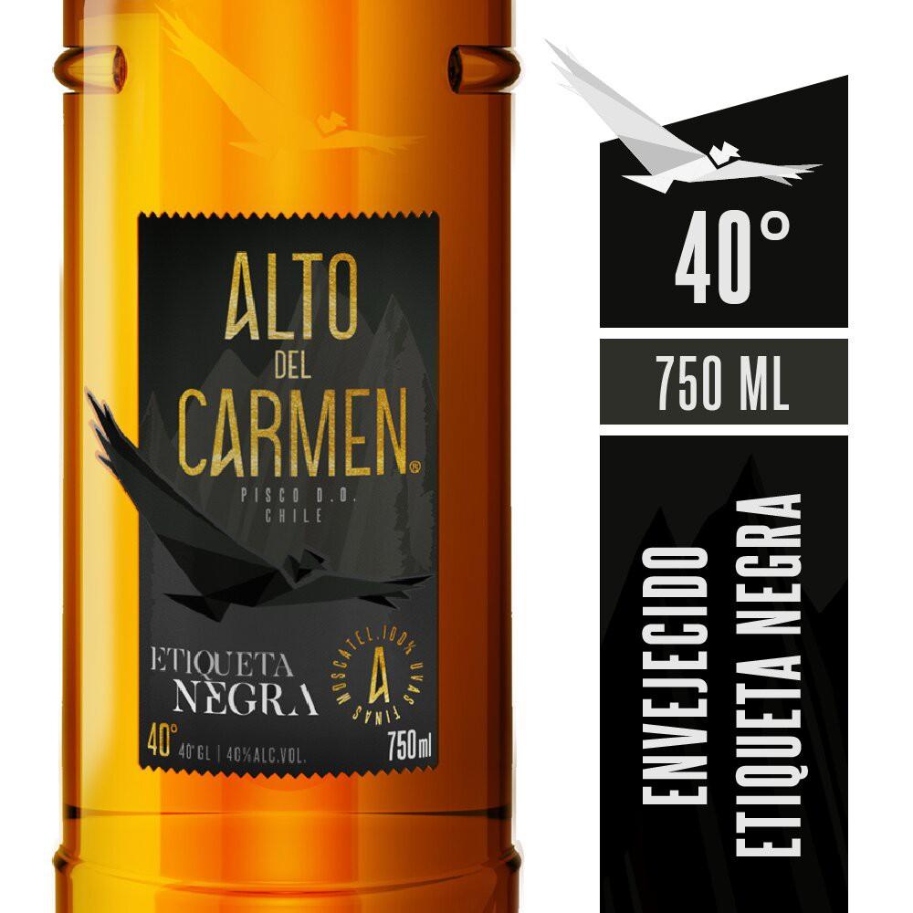 Pisco Etiqueta Negra 40°