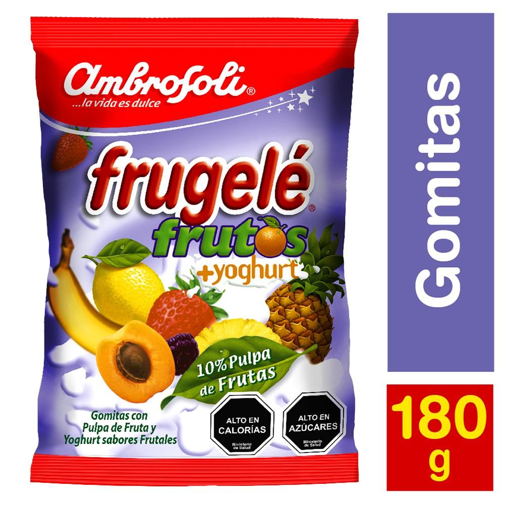 Gomitas Frugelé frutos con yogur