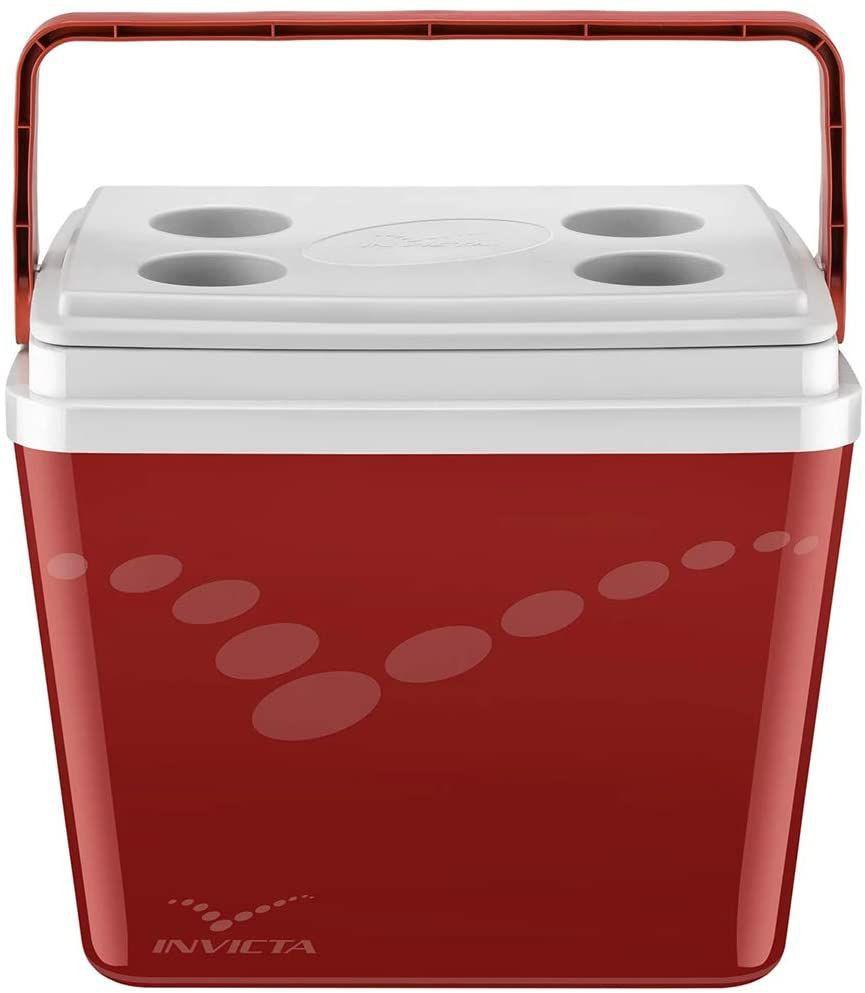 Caixa térmica pop vermelha