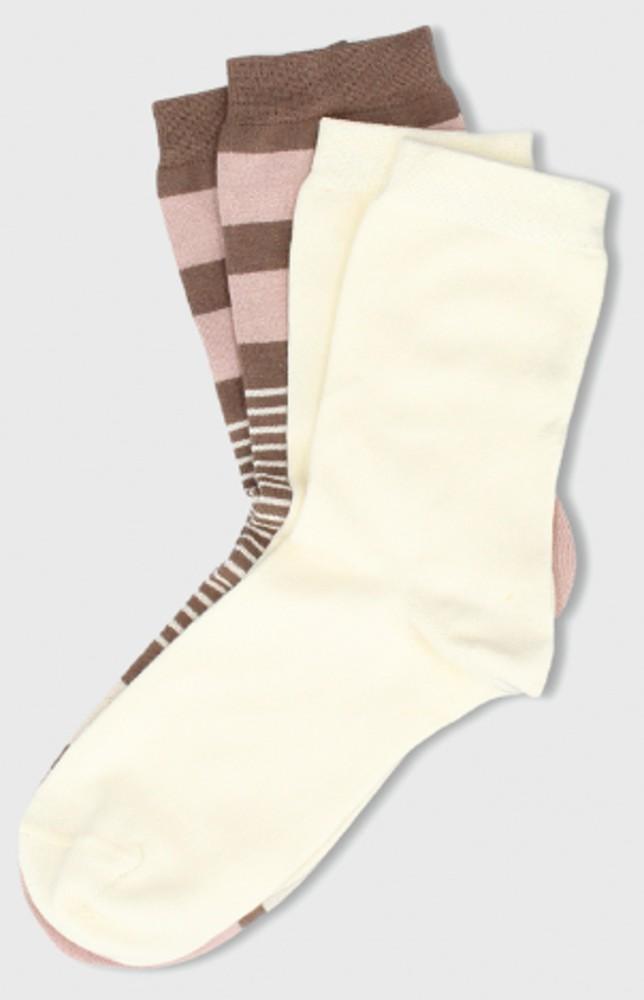 Pack calcetín rayas 2 pares
