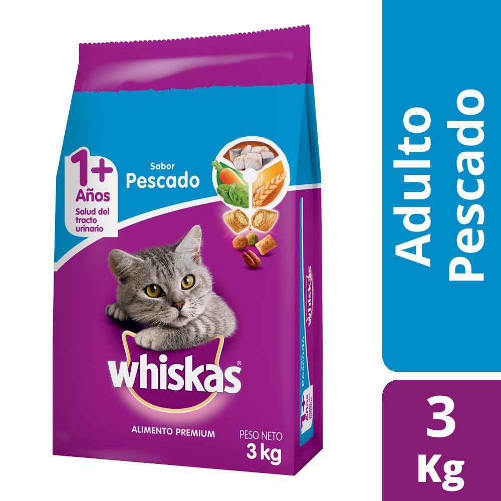 Alimento para gato adulto sabor pescado
