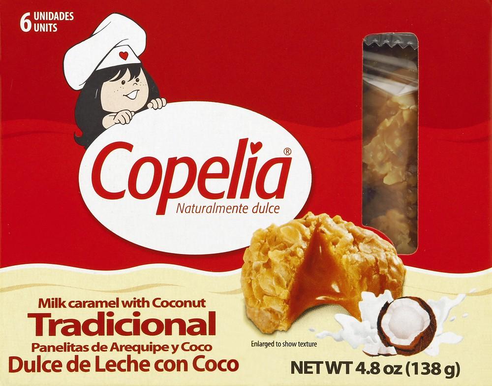 Milk Caramel with Coconut Panelitas 6 ct