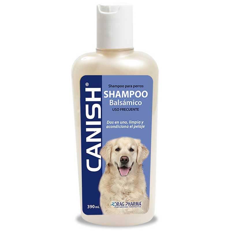 Shampoo balsámico para perros