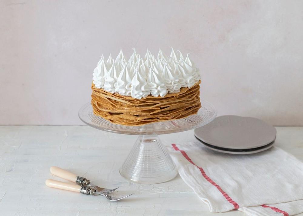 Torta de hojarasca y manjar Para 10 personas