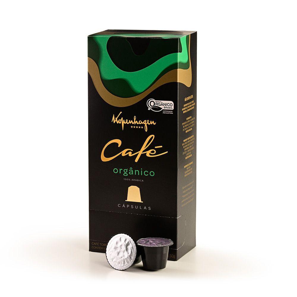 Cápsulas de café orgânico