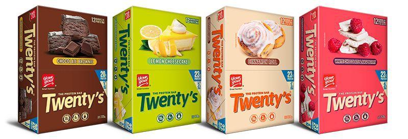 Pack 48 twenty´s (12 de cada sabor)