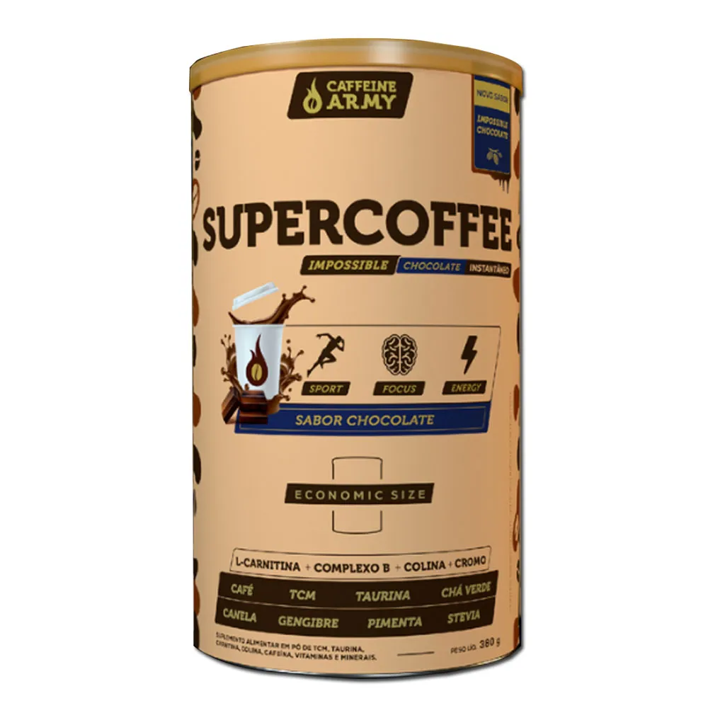 Supercoffee 2.0 impossible chocolate -  - caffeine army