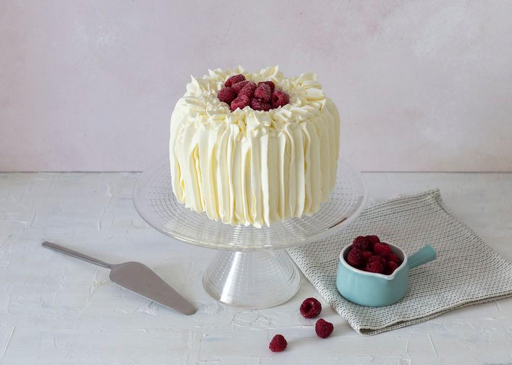 Torta de merengue y frambuesa (sin azúcar) Para 6 personas