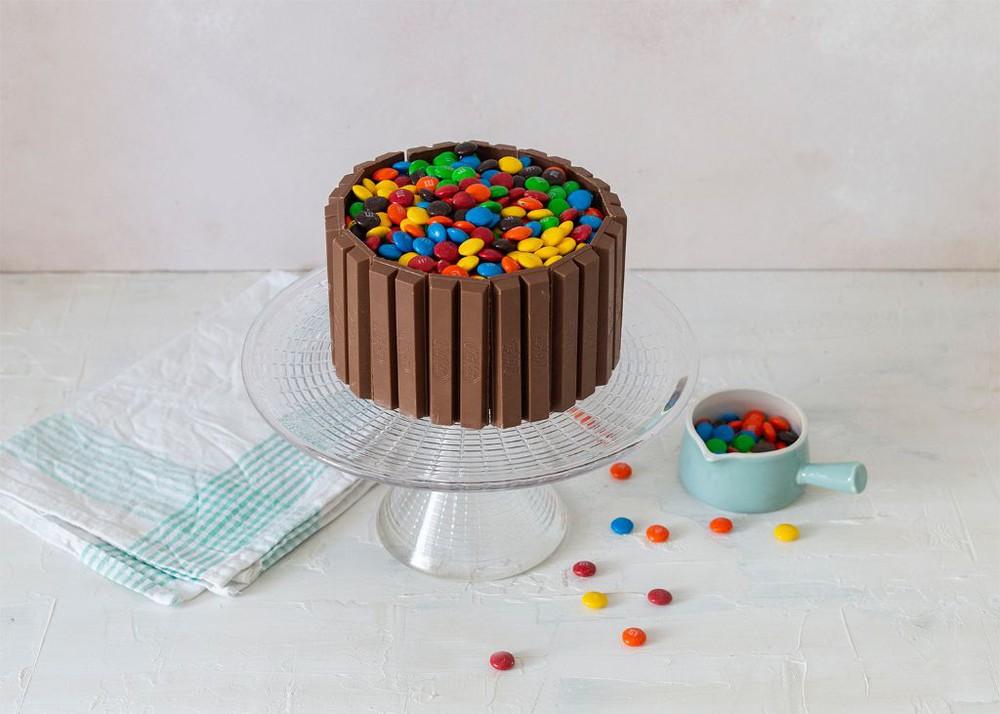 Torta de brownie, nutella y manjar (versión infantil) Para 6 personas