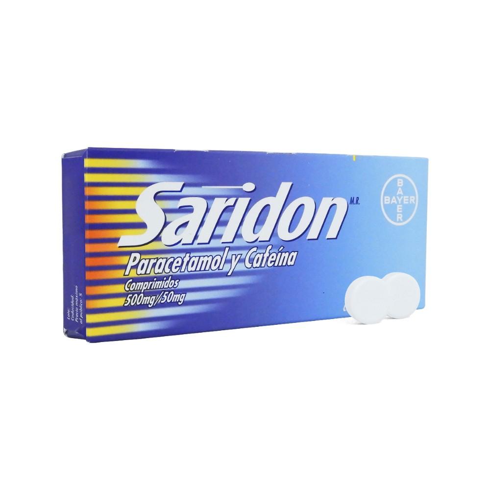 Analgésico paracetamol 500mg cafeína 50mg