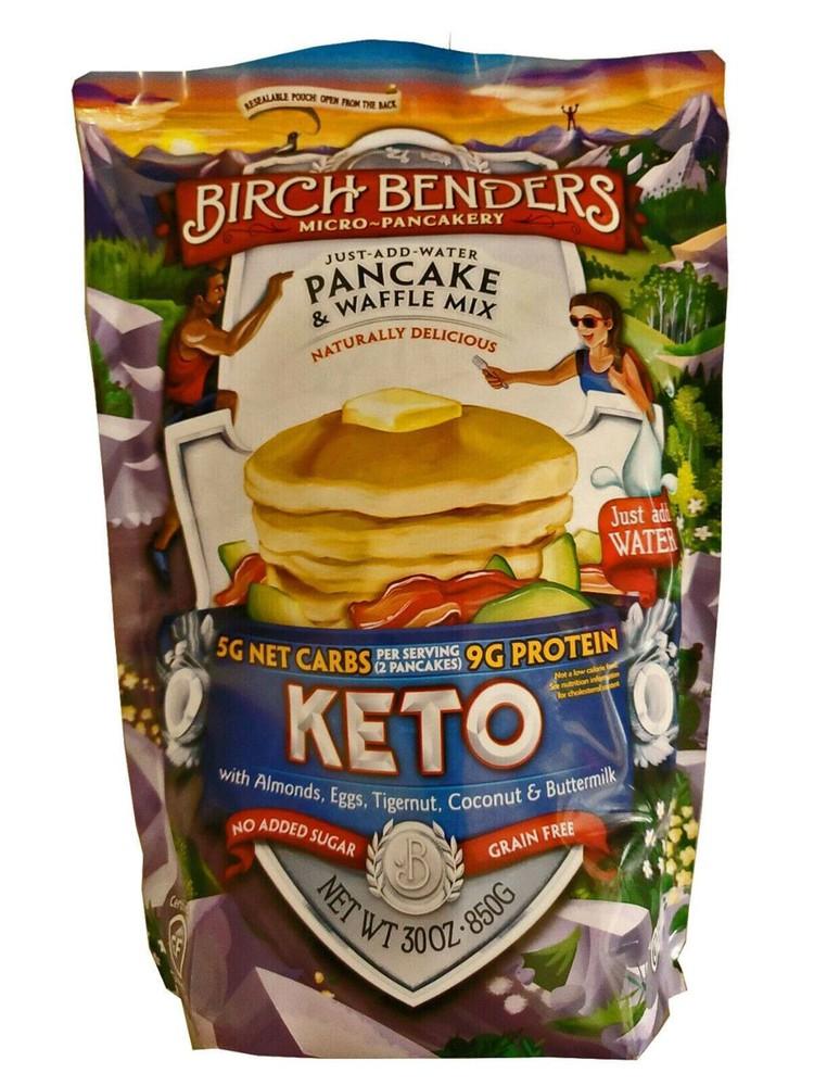 Mezcla de panqueques Keto birch benders