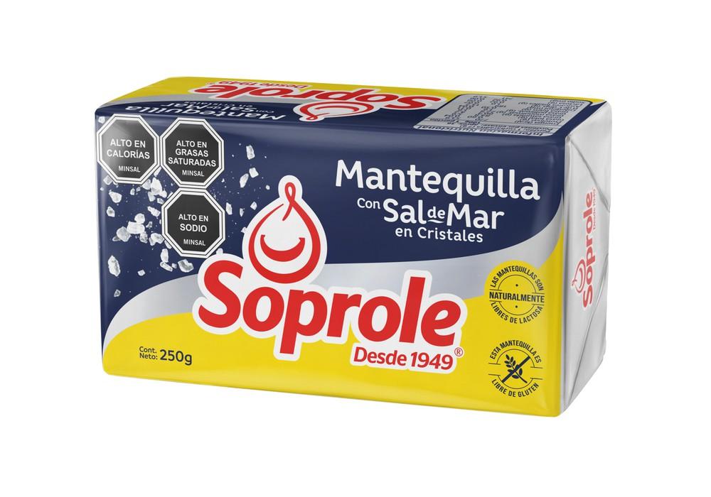 Mantequilla con sal de mar