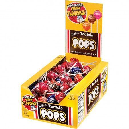 Paletas variedades de sabores tootsie pops