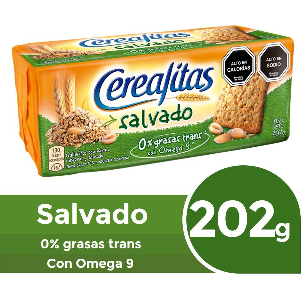Galletas integrales con salvado de trigo