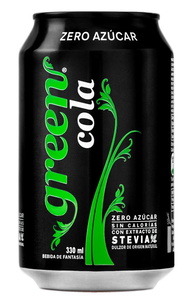 Bebida 0 azúcar endulzada con stevia
