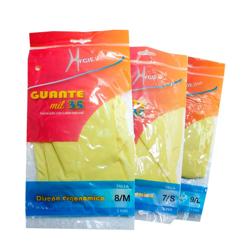 Guante amarillo economico 1