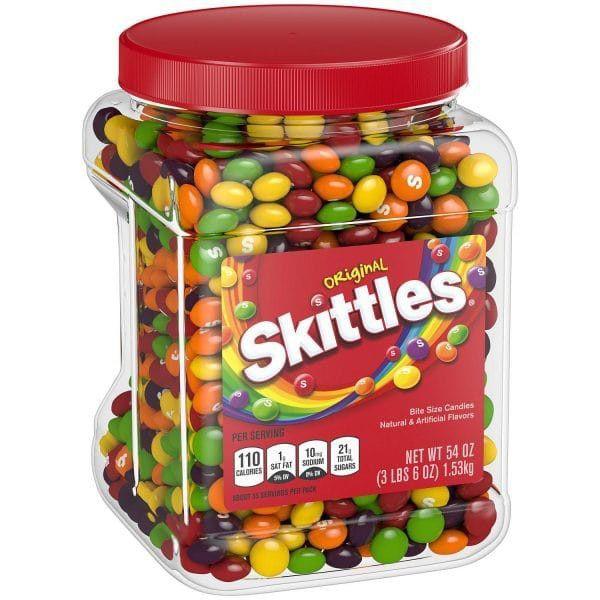 Tarro dulces skittles original