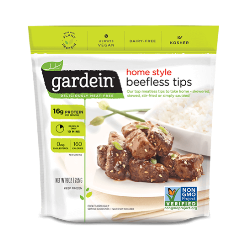 Home style beefless tips