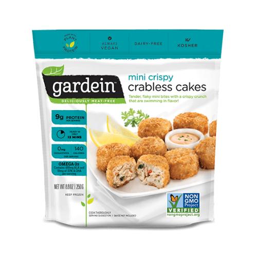 Mini crispy crabless cakes