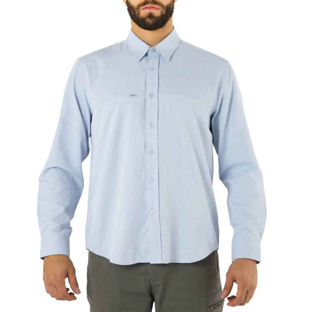 Camisa quebec vancouver celeste