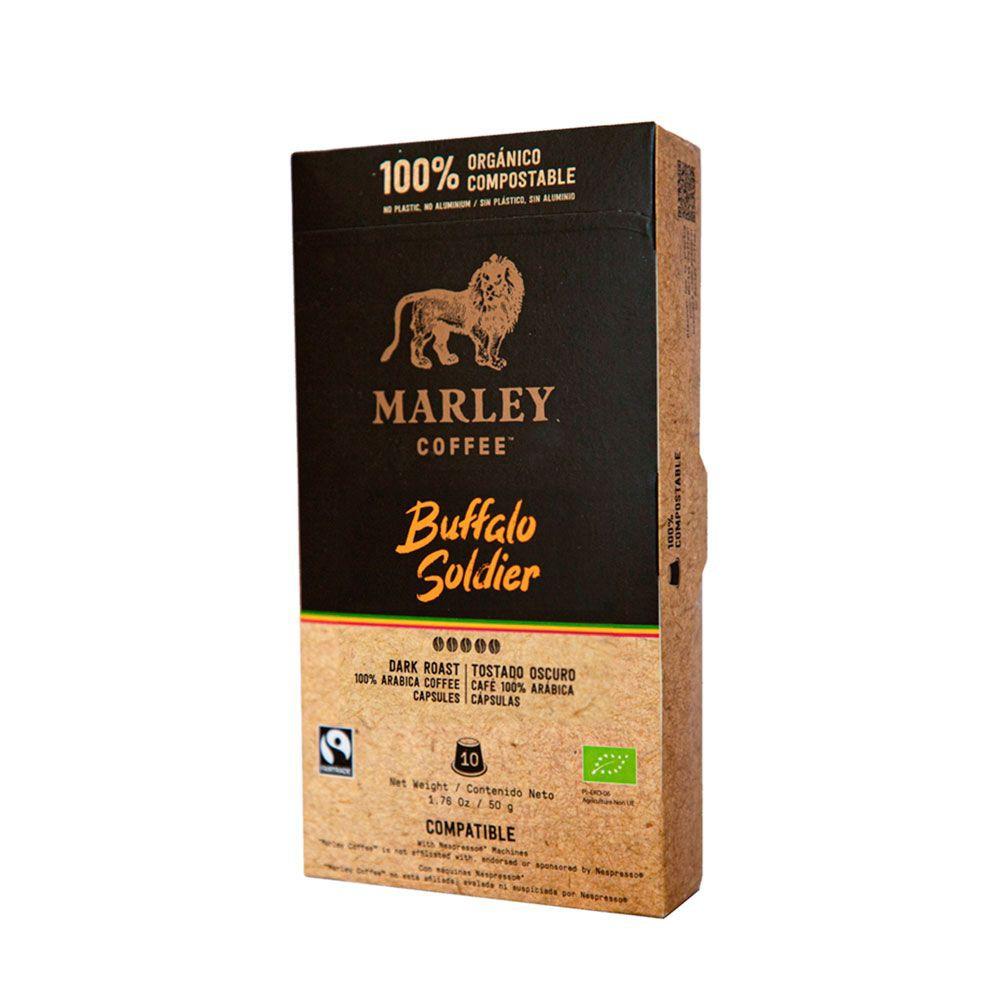 Cápsulas Buffalo Soldier · nespresso®️ compatible Caja de 10 cápsulas